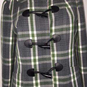 The Limited Jackets & Coats - The Limited Plaid Coat